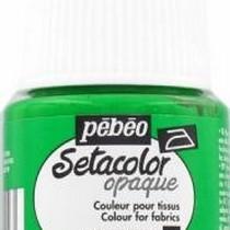 024 Краска для темных тканей весенняя зелень  Setacolor Opaque Pebeo