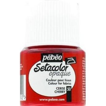 Краска для темных тканей зеленая 027 Setacolor Opaque Pebeo