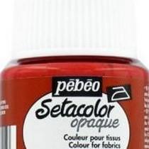 051 Краска для темных тканей сангина Setacolor Opaque Pebeo