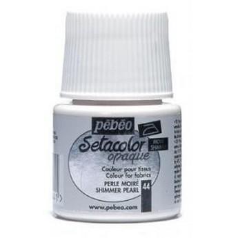 Краска для темных тканей васильковая 057  Setacolor Opaque Pebeo