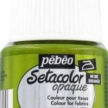 Краска для темных тканей металлик Setacolor Opaque Pebeo №072  Бронза, 45мл.