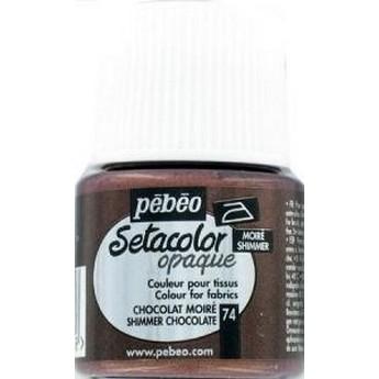 Краска для темных тканей металлик бронза 072 Setacolor Opaque Pebeo