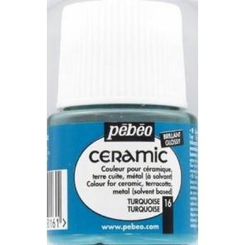 Краска-эмаль лаковая непрозрачная Ceramic Pebeo Цвет Богатое Золото 015