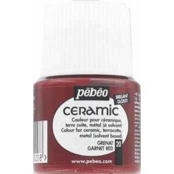 Краска-эмаль лаковая непрозрачная Ceramic Pebeo Цвет Серна   019