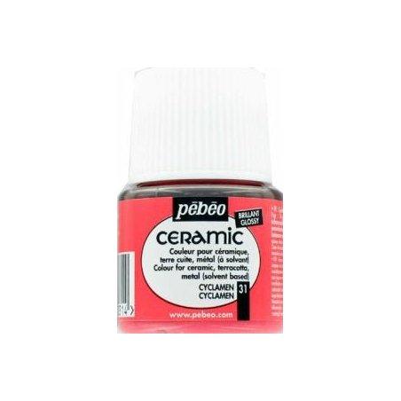 Краска-эмаль лаковая непрозрачная Ceramic Pebeo Цвет  Перламутровый 030