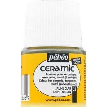 Краска-эмаль лаковая непрозрачная Ceramic Pebeo Цвет Античный Белый 032