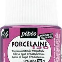 Краска под обжиг непрозрачная Porcelaine Pebeo 08, цвет - Розовый опал