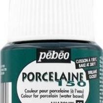 Краска под обжиг непрозрачная Зеленый бронзовый Porcelaine  Pebeo 28