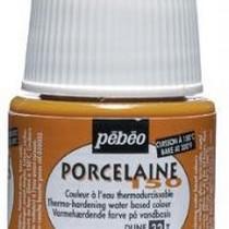 Краска под обжиг непрозрачная Porcelaine Pebeo 32, цвет - Желтая дюна
