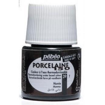 Краска под обжиг непрозрачная Красный топаз  Porcelaine Pebeo 38
