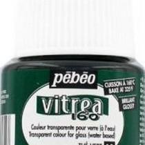 Краска для стекла под обжиг Vitrea Pebeo 15, цвет - зеленый чай, 45мл.
