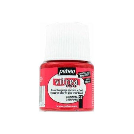 Краска для стекла под обжиг Матовая Vitrea Pebeo Оранжевый 31