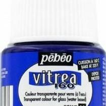 Краска для стекла под обжиг Матовая Vitrea Pebeo Пурпурный 34