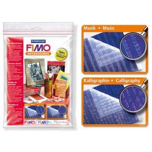 Набор текстурных листов Fimo 8744 03