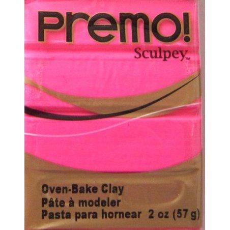 Полимерная глина Premo, 57 г, 5529 , ярко-розовый