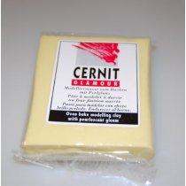 Полимерная глина Cernit Glamour, 62г, №700 - желтый