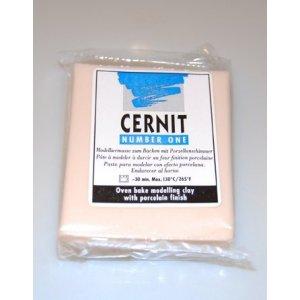 Полимерная глина CERNIT NUMBER ONE, 62г, №042 - бисквит