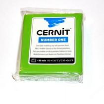 Полимерная глина CERNIT NUMBER ONE, 62г, №611 - салатовый