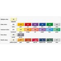 Набор полимерной глины Фимо Эффект, 24 цвета по 56г