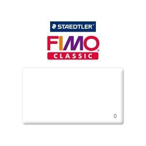 Полимерная глина Fimo Classic, 350г №0 - белый