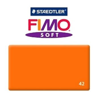 Полимерная глина Fimo Soft, 350г №42 - оранжевый