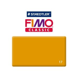 Полимерная глина Fimo Classic, 350г №17 - охра