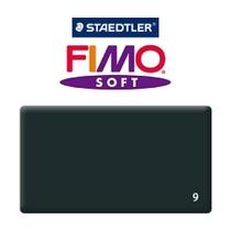 Полимерная глина Fimo Soft, 350г №9 - черный