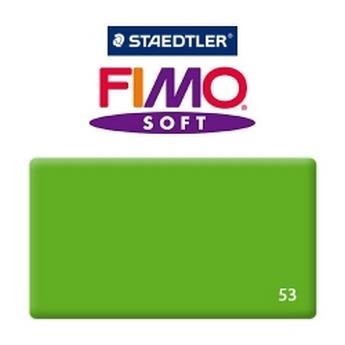 Полимерная глина Fimo Soft, 350г №53 - зеленый