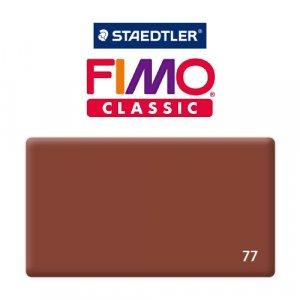 Полимерная глина Fimo Classic, 350г №77 - шоколад