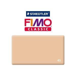 Полимерная глина Fimo Classic, 350г №45 -  тёмно-телесный