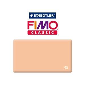 Полимерная глина Fimo Classic, 350г №43 -  телесный