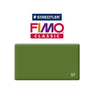 Полимерная глина Fimo Classic, 350г №57 - зелёный лист