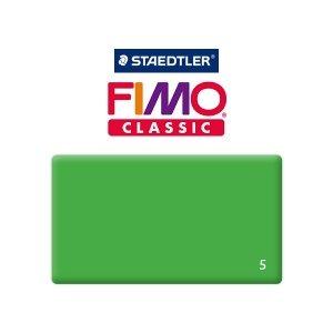 Полимерная глина Fimo Classic, 350г №5 - зелёный