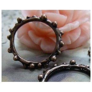Медная  металлическая подвеска  Декоративное кольцо