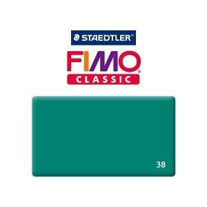 Полимерная глина Fimo Classic, 350г №38 - сине-зелёный