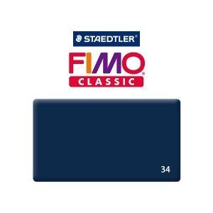 Полимерная глина Fimo Classic, 350г №34 - темно-синий