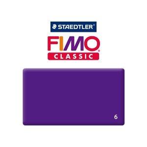Полимерная глина Fimo Classic, 350г №6 - фиолетовый