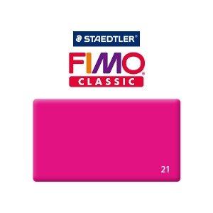 Полимерная глина Fimo Classic, 350г №21 -  розовый