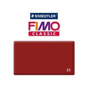 Полимерная глина Fimo Classic, 350г №23 - бордо
