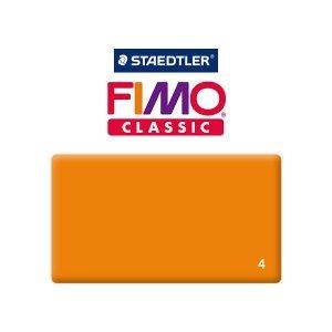 Полимерная глина Fimo Classic, 350г №4 - оранжевый