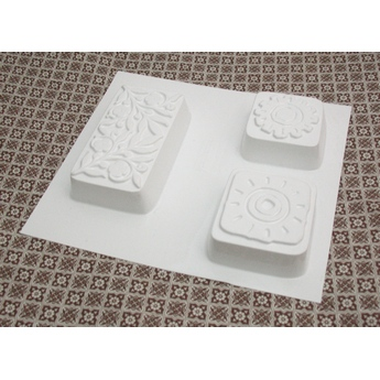 Пластиковая форма Орнаменты  №02 5550