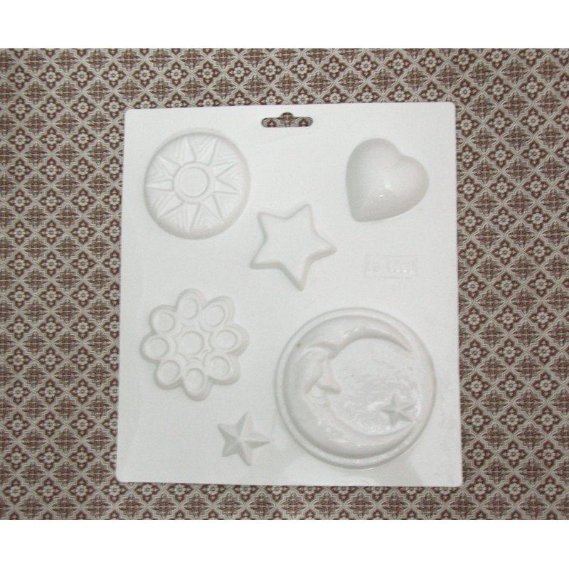 Пластиковая форма Лунная ночь  №02 5525