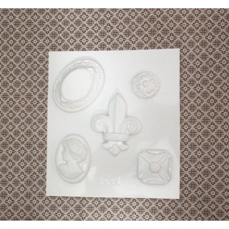 Пластиковая форма Римские орнаменты  №02 5529