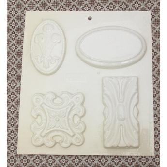 Пластиковая форма Орнаменты  В  №02 5532