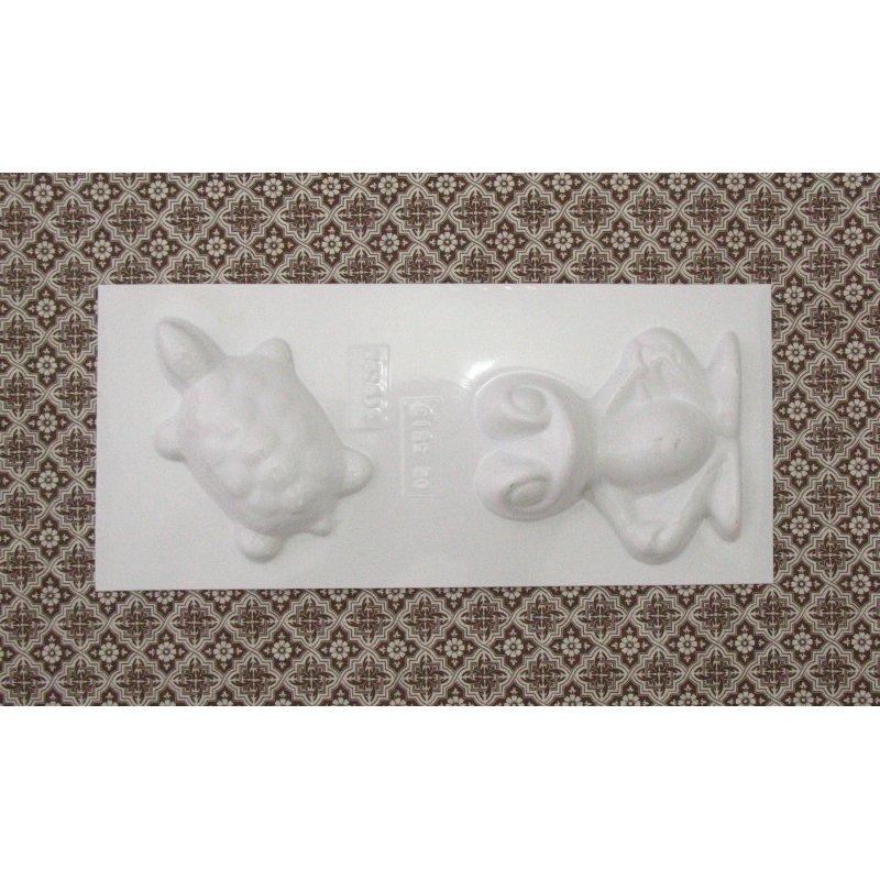 Пластиковая форма Жабка и Черепха  №02 5513