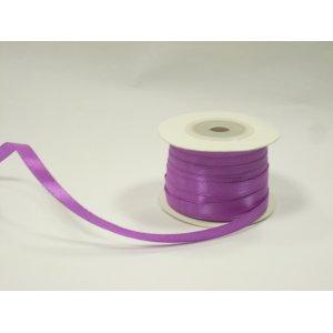 Атласная лента, цвет пурпурный, 7мм