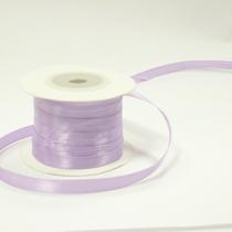 Атласная лента, цвет светло-лиловый, 6мм