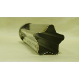 Форма для мыла под нарезку Пятиугольная звезда, малая