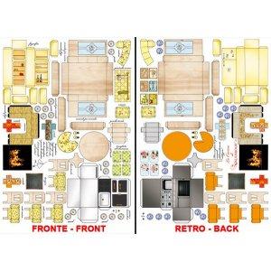 3D карта Минимебель кухня