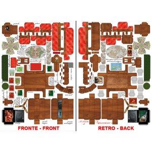 3D карта Минимебель гостинная